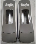 GOJO Foam Soap Dispenser Push Style Gray/White ADX-7 700mL 8784-06 Lot Of 2 - $23.75