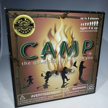 Camp Board Game 4 Age Levels Multi-Generational Family Fun Nature Facts ... - $12.95