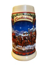 """2003 Budweiser Holiday Stein- """"Old Towne Holiday"""" CS560 - $8.00"""