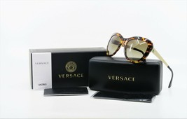 VERSACE Women's Over-Sized Tortoise Sunglasses w/ Box MOD 4325 5208/13 54mm - $219.99