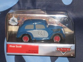 Disney Store Cars 3 Diecast River Scott. Brand New Factory Package. - $9.85