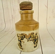 Antique 1850'S Vintage Jar Old William Powell Bristol Stoneware Pottery ... - $57.76