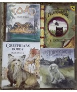 4 Ruth Brown books Greyfriars Bobby, A Dark Dark Tale, One Stormy Night,... - $9.99