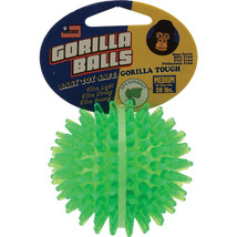 Petsport Assorted Gorilla Ball Dog Toy Medium/3 In - $21.30 CAD