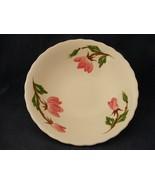 "Continental Kilns Green Arbor Pink Magnolia 8 7/8"" Serving Bowl Hand Pa... - $14.00"