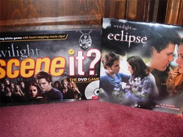 Twilight - Scene It? DVD Movie Trivia Game & Eclipse 2011 16-Month Calendar - $8.99
