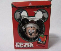 ENESCO TREE-RIFIC TREASURES MICKY MOUSE LOOKING DOWN MICKEY UNLIMITED OR... - $10.99