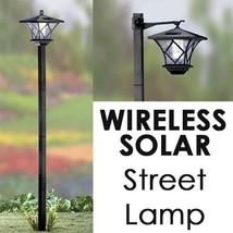 Modern Home Solar LED Street Lamp Post - $24.51