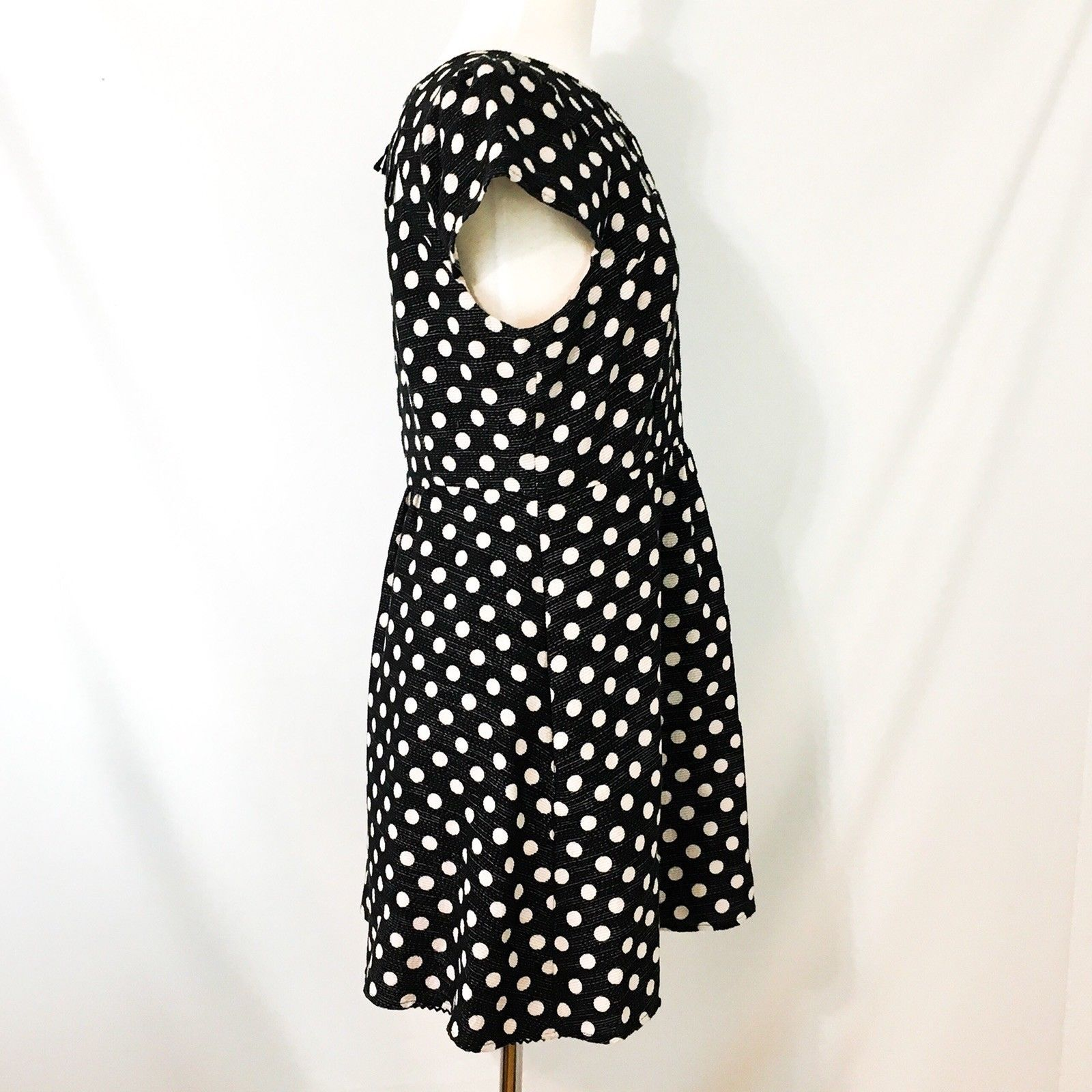 Maeve Anthropologie Nikola Polka Dot Dress 10P