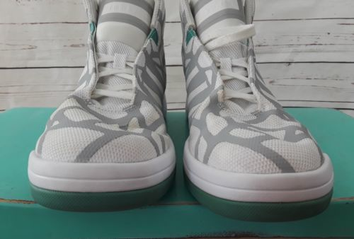 huge selection of 7305a a5477 Adidas Fit Foam Soft Comfort grey and white sneakers well Ankle Lace up 9  mens