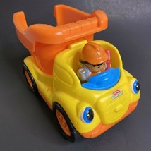 Fisher Price Little People Dump Truck Singing Sounds with Driver - $14.00
