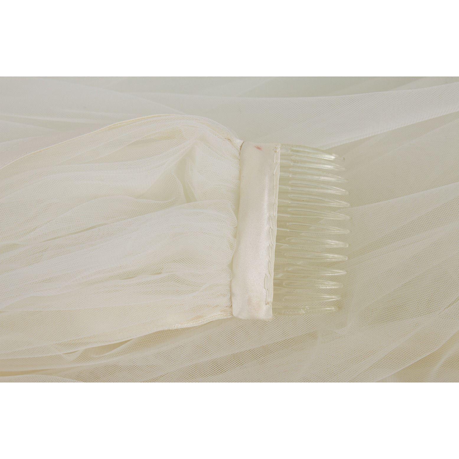 Vera Wang Silk Floor Length Bridal Wedding Gown Dress Strapless US 8 EU 42 image 10