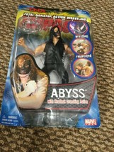 Abyss Marvel Toys 2005 TNA Impact Wrestling Series 1 Action Figure WWE - $69.29