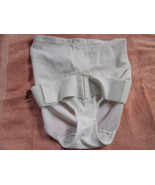 Beautiful Images White Belted Panty Girdle Pant... - $15.79