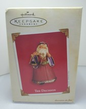 Preowned Hallmark Keepsake Ornament 2003 The Decision Santa Claus - $8.82
