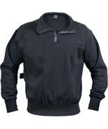 Navy Blue Heavyweight Long Sleeve Firefighter EMS 1/4 Zip Work Shirt - $36.99+