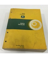 Genuine John Deere 6600 Combine Parts Catalog PC-1166 1982 Dealer Service - $59.99