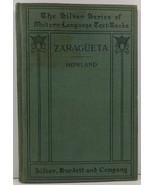 Zaragueta Comedia en Dos Actos Original George Carter Howland - $4.99
