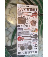 Creative Imaginations Rock 'N' Roll Scrapboarding Made Easy Stickers - $2.79