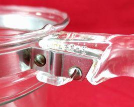 Pyrex Flameware 6283U 1½ qt Vintage Glass Saucepan w/ Stainless Steel Band image 8