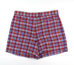 Tommy Hilfiger Plaid Golf Shorts Sz 6 Womens 100% Cotton - $19.95