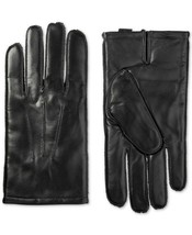 Isotoner Signature Men's ThermaFlex Leather Driving Gloves Medium and Large - $39.99