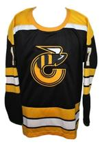 Blaine Stoughton #17 Cincinnati Stingers Retro Hockey Jersey New Black Any Size image 1