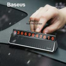Baseus Car Styling Sticker Temporary Car Parking Card Mobile Phone Holder Number - £16.05 GBP