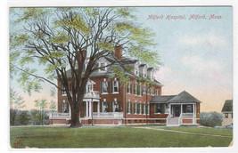 Milford Hospital Milford Massachusetts 1910c postcard - $6.44