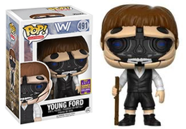 Funko Pop! Young Ford Robotic Westworld 491 2017 Summer Convention Exclu... - $18.62