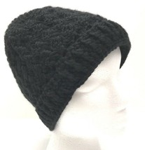New Crochet Fashion Beanie Hat Black Women's - $10.00
