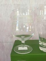 KATE SPADE NIB SET OF 4 ASSORTED BEER GLASSES SET OF 4 LIBRARY STRIPE LENOX image 4