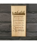 The Hobbit Diet Sign, Lord Of The Rings Gift Hobbit Hole Kitchen Breakfa... - $12.10