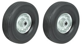 "10"" Utility Solid Rubber Wheel Assembly for Dollies, Wagons, Carts 2 - $57.62"