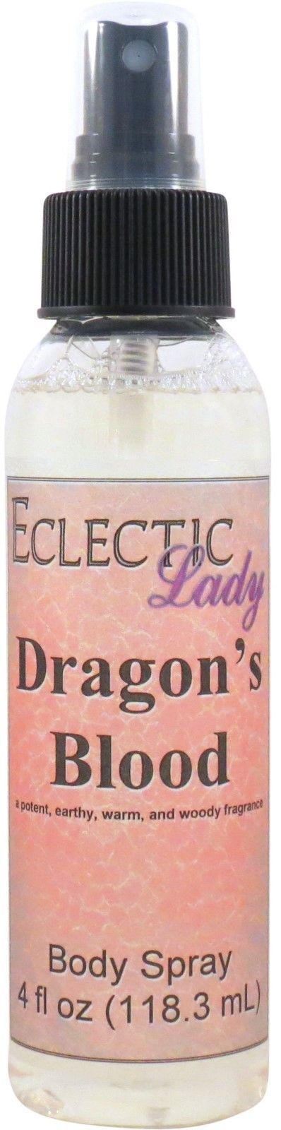Dragon's Blood Body Spray, 4 oz, SALE