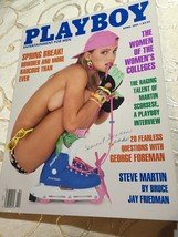 April 1991 Playboy Magazine The Women Of The Women's Colleges Martin Sco... - $8.41