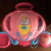 VTech Cinderella  Princess Magic Wand Laptop Computer-Cinderella Coach - $13.57
