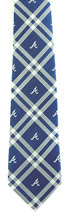 Atlanta Braves Men's Necktie Licensed MLB Baseball Sports Rhodes Blue Ne... - $31.68