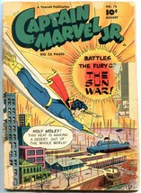 Captain Marvel Jr #76 1949- Fawcett Golden Age reading copy - $25.22