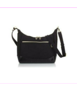 $90 TravelSmith Going Places Anti-Theft RFID Crossbody Bag -BLACK- - $39.60