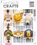 McCall's 2655 Crafts Sewing Pattern Straw Hat Wreaths - $4.83