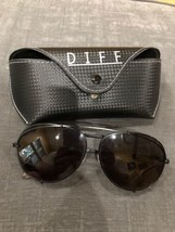 Diff Eyewear Barry MB-GR22 Sunglasses Black Metal - $78.40