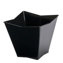 Mini Ware Small Plastic Star Cup Black/Case of 288 - $64.32