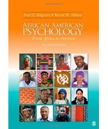 African American Psychology: From Africa to America [Jul 15, 2009] Belgr... - $25.00