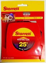 "Starrett Roofing Layout Tape 1"" x 25' RT1-25 - $6.93"