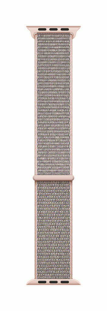 GENUINE Apple Watch 42mm/44mm Sport Loop Band Pink Sand MQW92AMA/A NEW