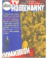ABC TV HOOTENANNY SHOW MAGAZINE #1 1964 - 1960S USA FOLK MUSIC - VERY RA... - $89.99