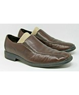 Cole Haan Size 11 M Men's NikeAir Brown Leather Slip On Loafer Shoes Dress - $20.18