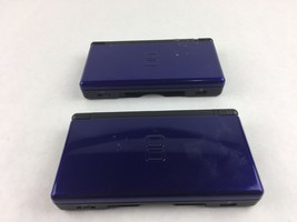 Lot of 2 Nintendo DS Lite Blue Handheld Console System AS IS For Parts /... - $24.75