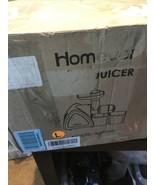 Juicer Machines, Homever Slow Masticating Juicer for Fruits and Vegetables - $35.59